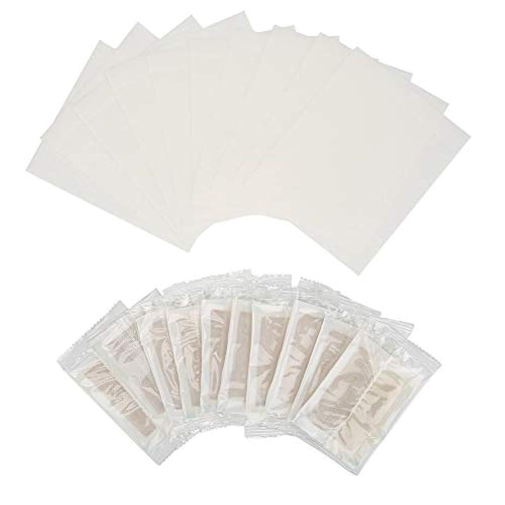 長方形ラメ配当接着性フットパッド、60個デトックスフットパッドしょうが抽出物睡眠のと体内毒素の除去