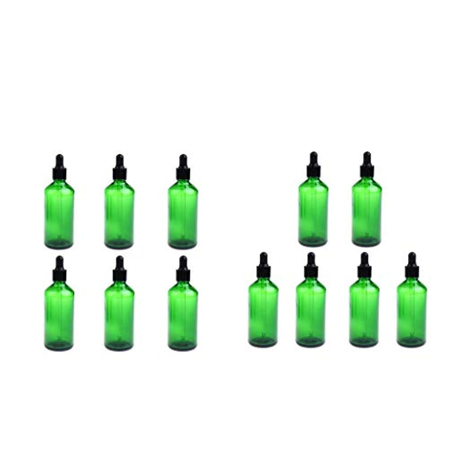 フック好奇心盛接続Hellery 液体アロマテラピーボトル 12個 スポイトボトル