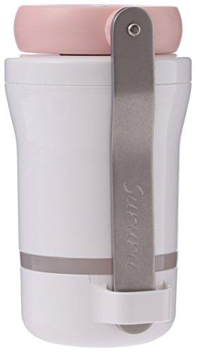 ポータブルお茶ミル Sururu (するる) 携帯ポーチ、オリジナルレシピ付き (ピンク)