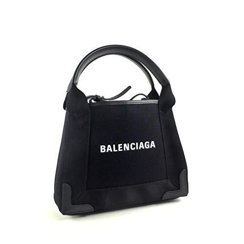 [バレンシアガ ]2way ハンドバッグ ネイビーカバ XS 新ロゴ 390346 [並行輸入品]