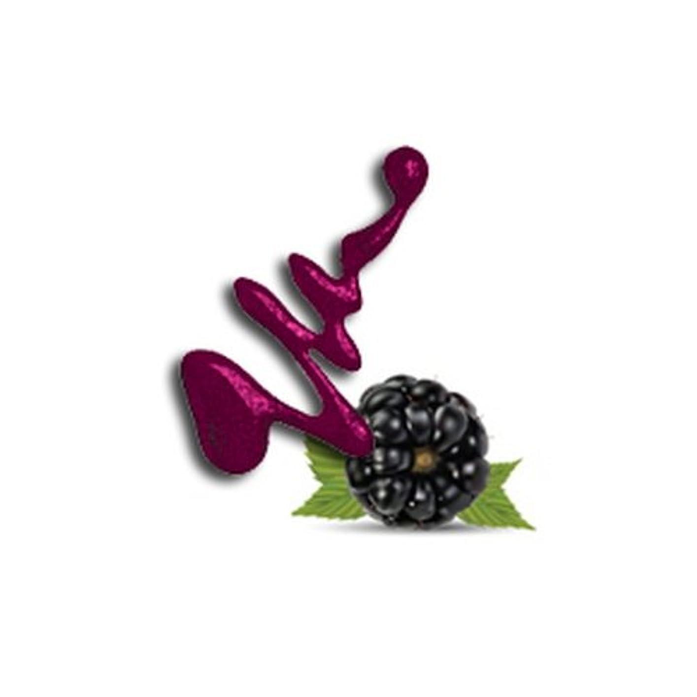ふりをする曲がった高架LA GIRL Fruity Scented Nail Polish - Blissful Blackberry (並行輸入品)