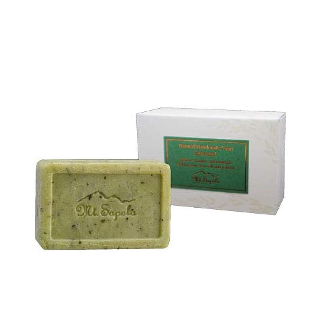 グリーンバック珍味流用するMT0305 ナチュラルソープ 120g ソープ シーウィード(海藻)【Mt.Sapola(マウントサポラ)】