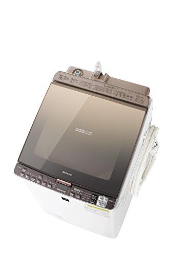 シャープ タテ型洗濯乾燥機 10kgタイプ ブラウン系 ESPX10B-T