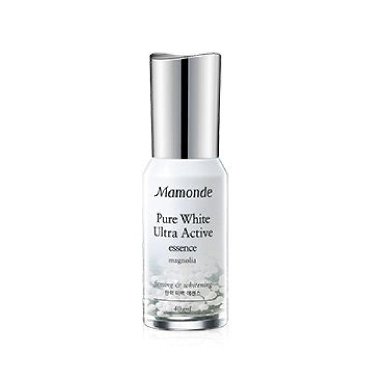 旅行代理店実際に複雑Mamonde Pure White Ultra Active Essence 40ml/マモンド ピュア ホワイト ウルトラ アクティブ エッセンス 40ml [並行輸入品]
