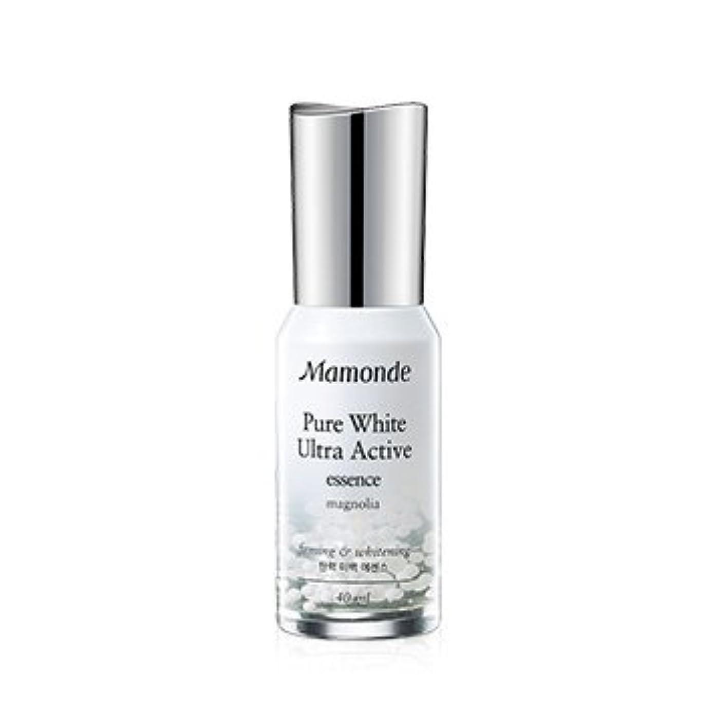 製油所柱差別Mamonde Pure White Ultra Active Essence 40ml/マモンド ピュア ホワイト ウルトラ アクティブ エッセンス 40ml [並行輸入品]