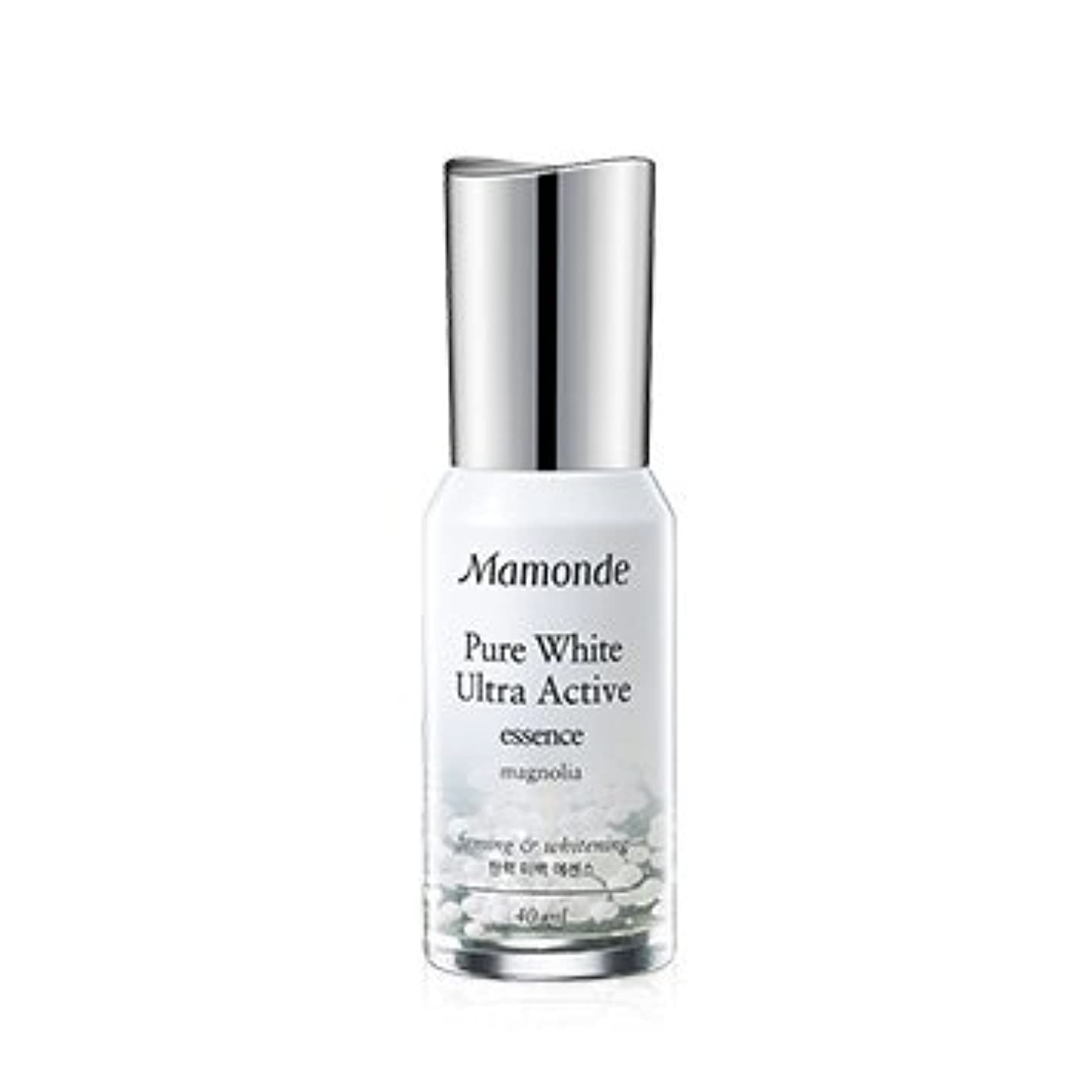 醜い任意任意Mamonde Pure White Ultra Active Essence 40ml/マモンド ピュア ホワイト ウルトラ アクティブ エッセンス 40ml [並行輸入品]