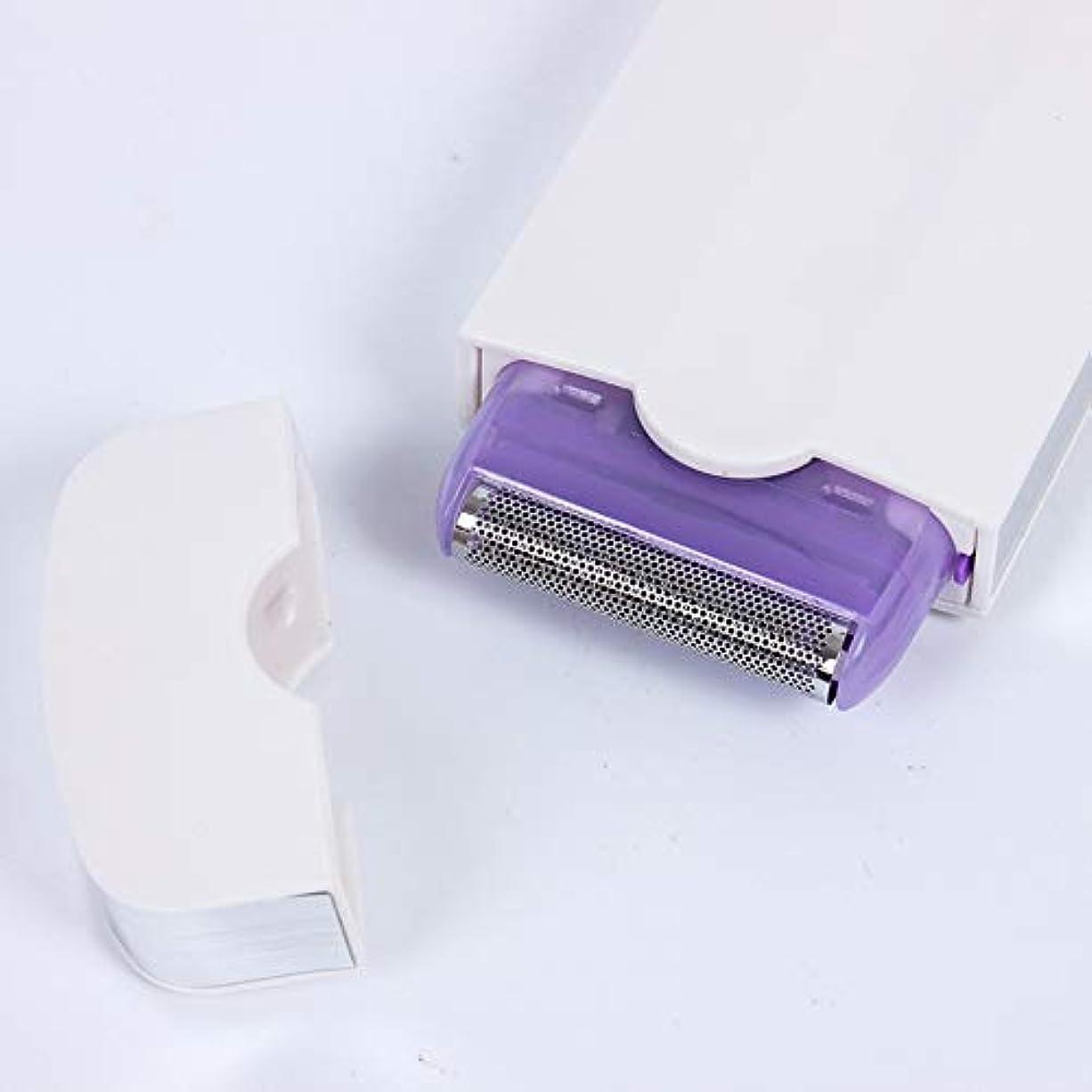 圧縮されたサポート最も早いブルーレイ誘導シェーバーレディ脱毛器レーザー痛みのない脱毛脱毛シェーバー電動脱毛器具
