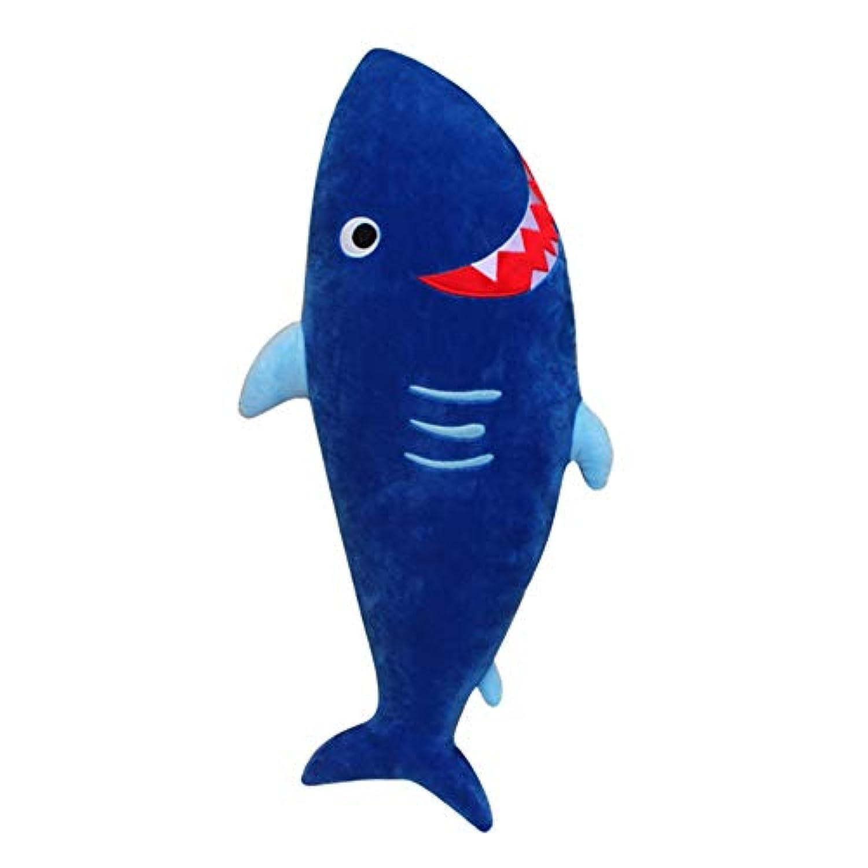 Cutelove シートベルト枕 キッズ マジックテープ 取付簡単 カバー 子供 ドライブ カーグッズ ショルダーカバー お祝い 可愛い おもちゃ サメ
