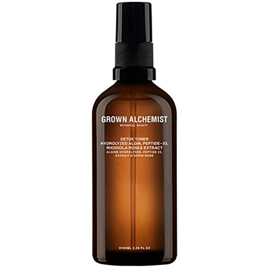 に渡ってカエル電子Grown Alchemist Detox Toner - Hydrolyzed Algin, Peptide-33 & Rhodiola Rosea Extract 100ml/3.38oz並行輸入品