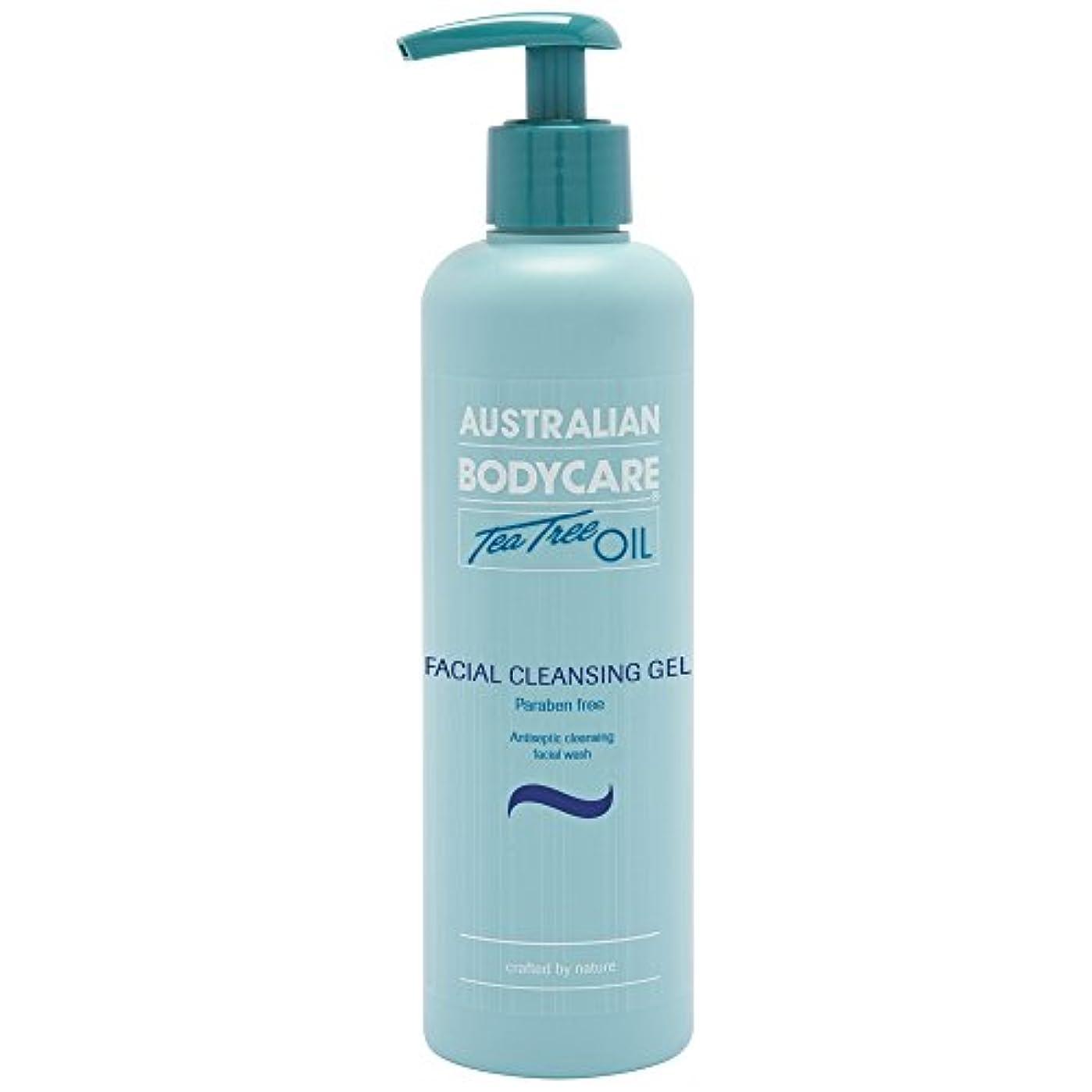 硬さ作詞家かりてオーストラリアのボディーケアティーツリーオイル洗顔ゲル250ミリリットル (Australian Bodycare) (x2) - Australian Bodycare Tea Tree Oil Facial Cleansing...