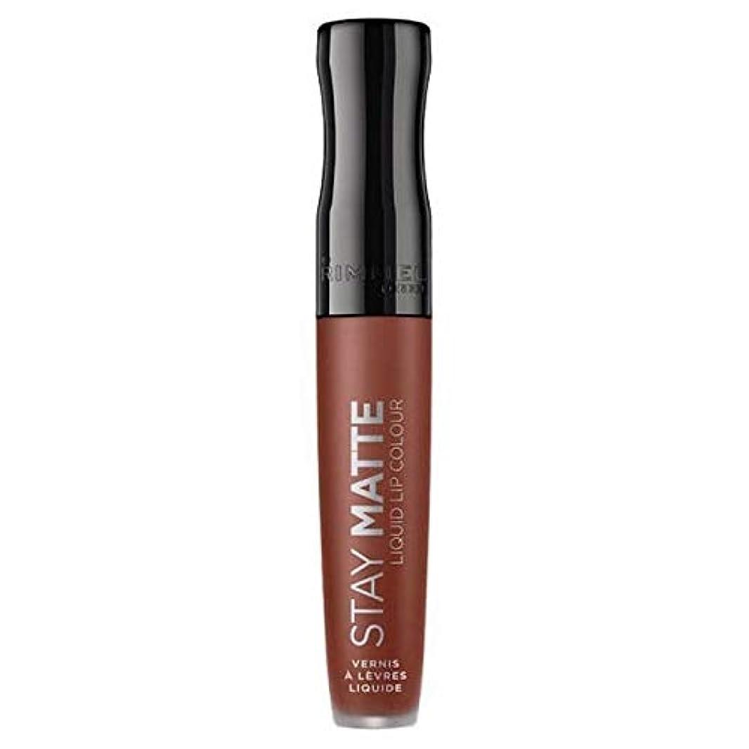 調整するヒギンズ調整[Rimmel ] リンメルステイマット液体リップ口紅愛のかま - Rimmel Stay Matte Liquid Lip Lipstick Love Bite [並行輸入品]