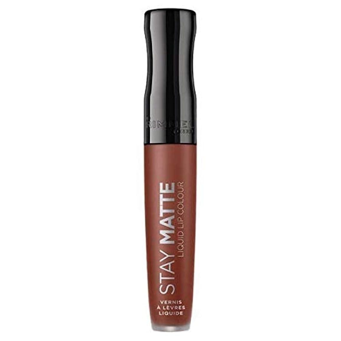 クラウド訪問速度[Rimmel ] リンメルステイマット液体リップ口紅愛のかま - Rimmel Stay Matte Liquid Lip Lipstick Love Bite [並行輸入品]