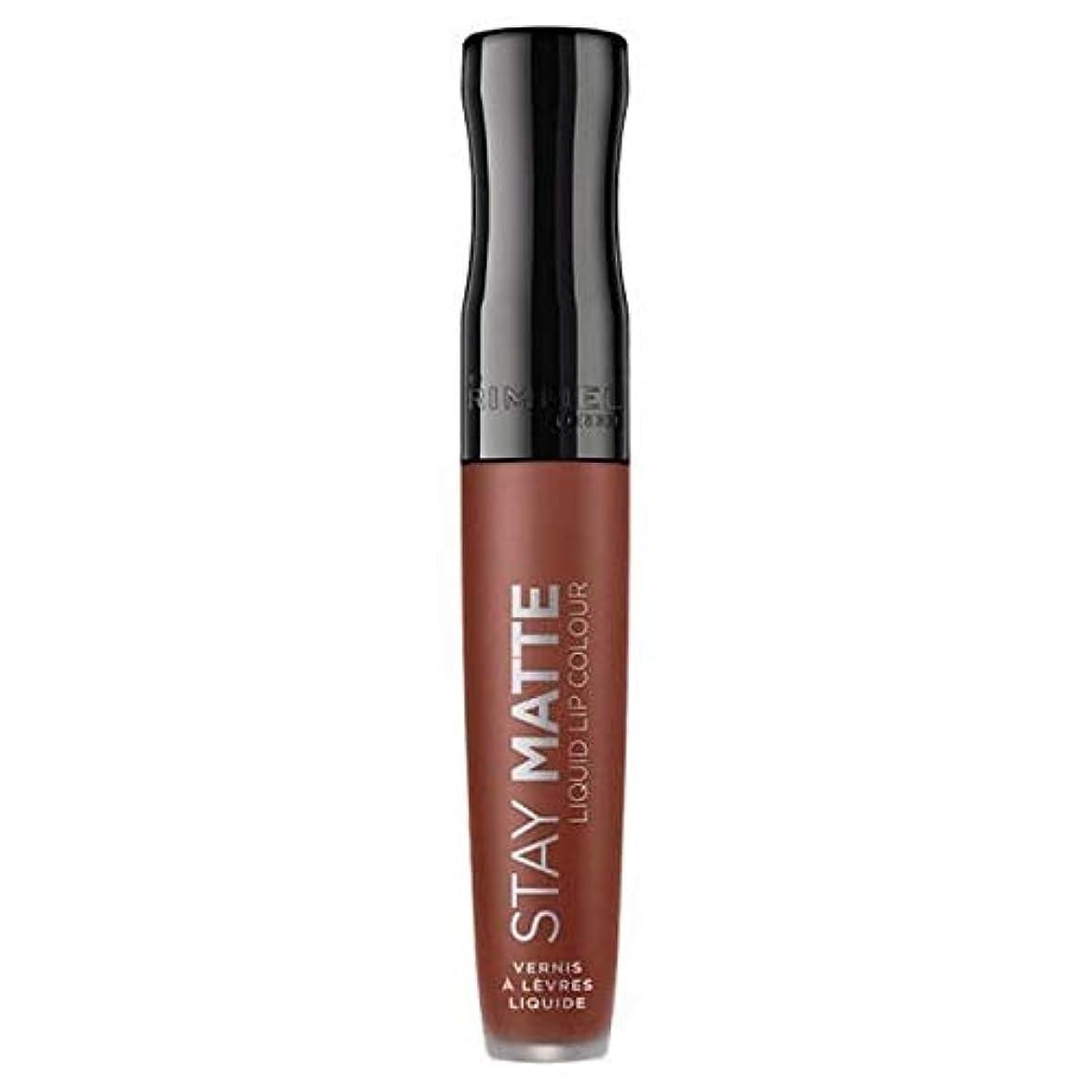 野心的今後タンザニア[Rimmel ] リンメルステイマット液体リップ口紅愛のかま - Rimmel Stay Matte Liquid Lip Lipstick Love Bite [並行輸入品]