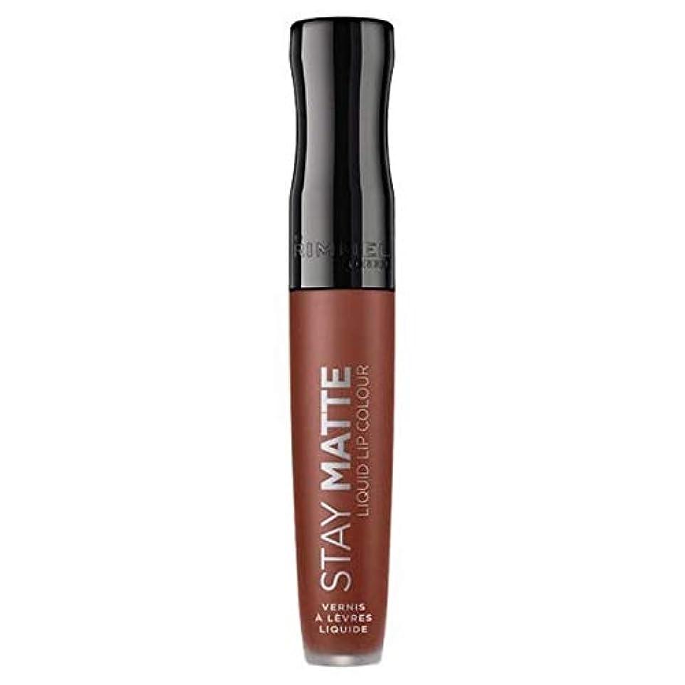 ヒューズ船上繊細[Rimmel ] リンメルステイマット液体リップ口紅愛のかま - Rimmel Stay Matte Liquid Lip Lipstick Love Bite [並行輸入品]