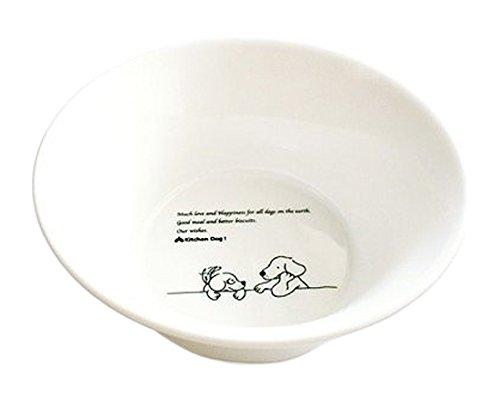 森修焼(しんしゅうやき) ドッグボウル M 直径175×高さ65mm 【日本製陶器・電子レンジOK・遠赤外線・マイナスイオン】