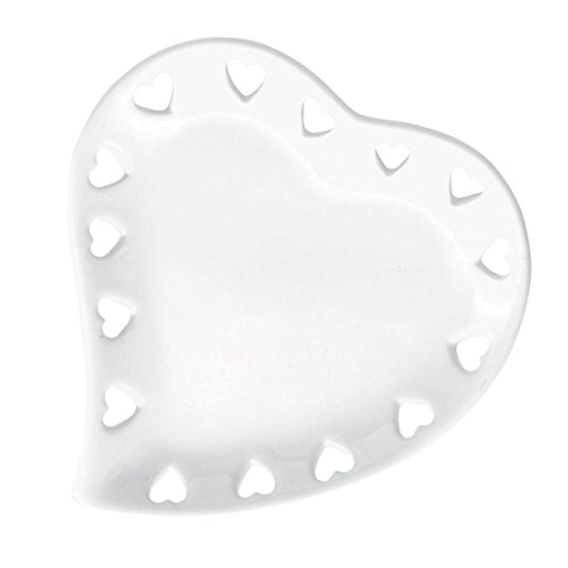 ウェイトレスフォージ励起ハートプレートS 「 ホワイト 」