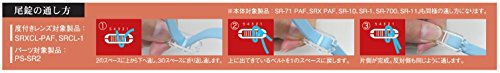 SWANS(スワンズ) スイミングゴーグル スイミング 競泳用 ゴーグル 専用パーツセット PSSR2 ブルー(BL)