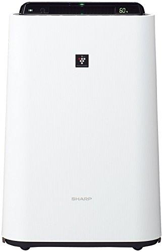 シャープ 加湿 空気清浄機 プラズマクラスター 7000 スタンダード 13畳 / 空気清浄 23畳 ホワイト KC-H50-W
