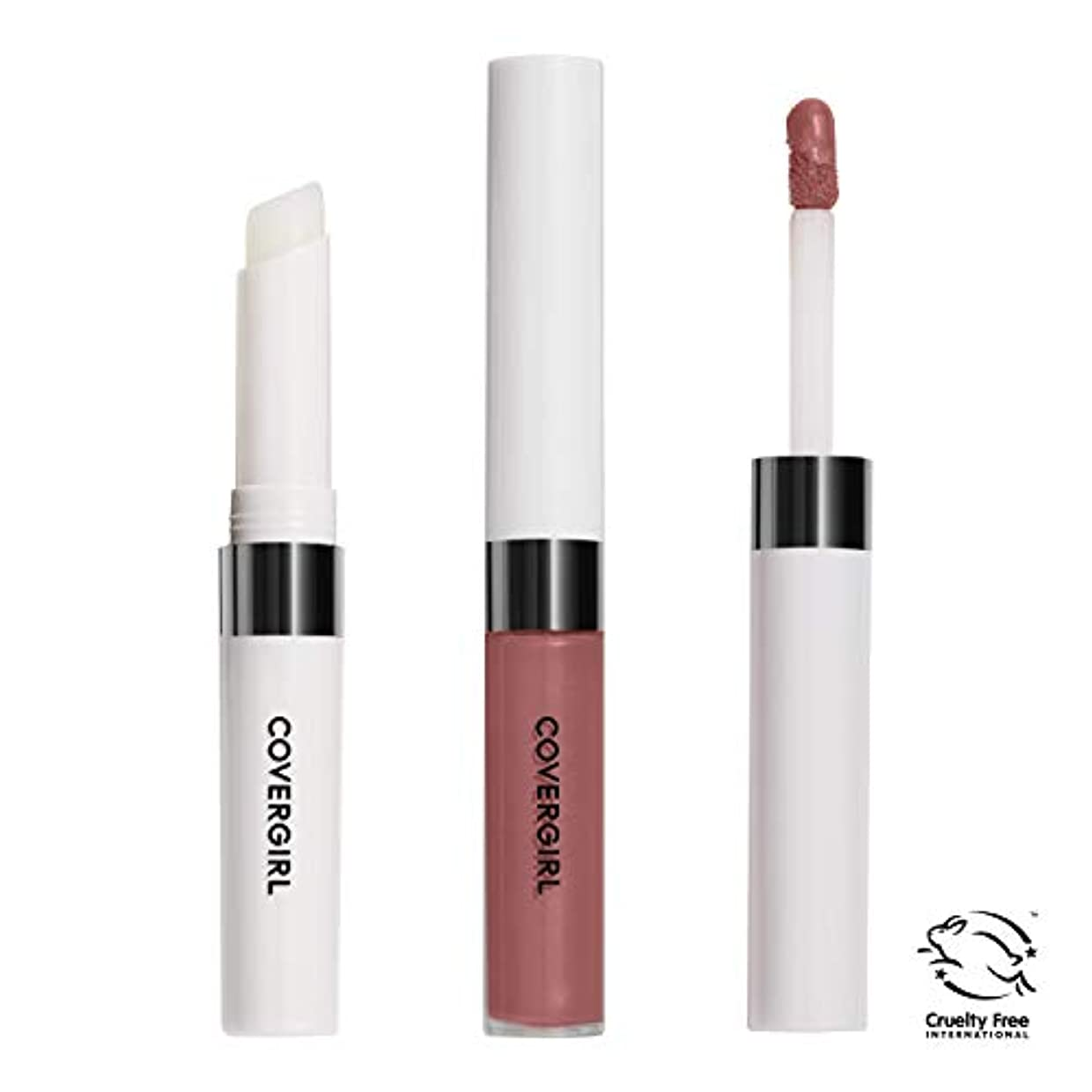 辛な慢要旨COVERGIRL Outlast All-Day Lip Color - Natural Blush 621 (並行輸入品)
