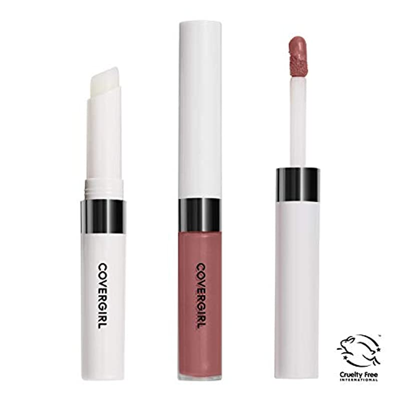 研磨剤和らげる電気陽性COVERGIRL Outlast All-Day Lip Color - Natural Blush 621 (並行輸入品)