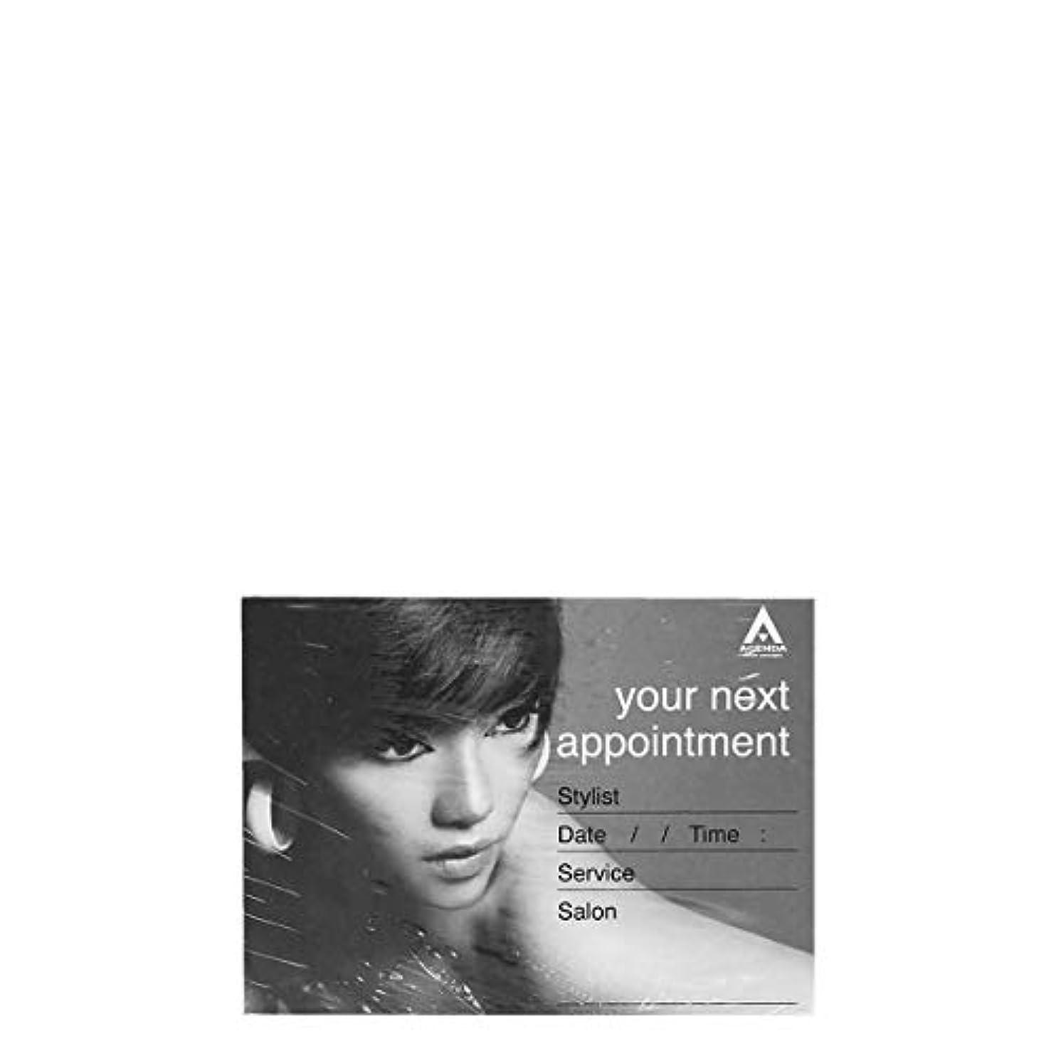 スキッパー俳優コックアジェンダ サロンコンセプト ネイルアポイントメントカードAP14 x100[海外直送品] [並行輸入品]
