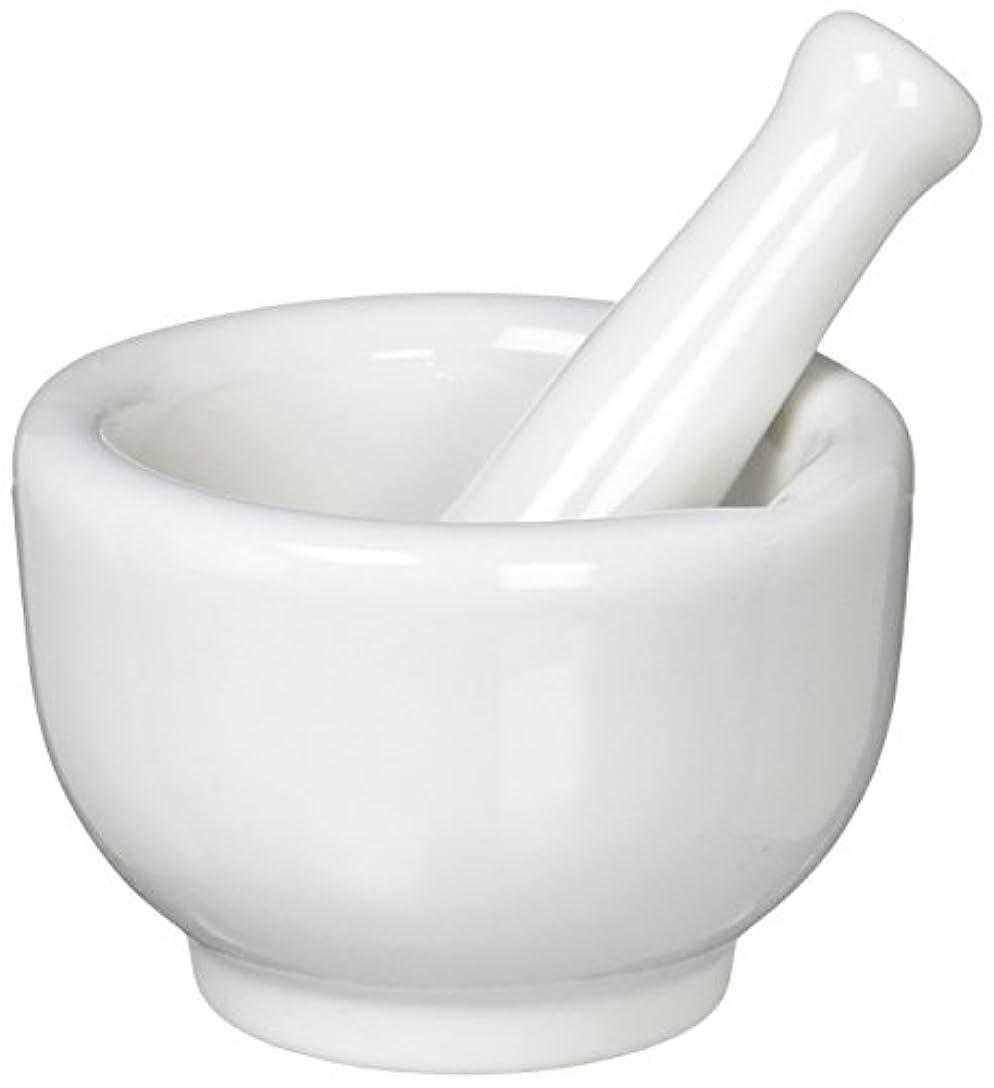 申込みネックレス不倫丸寿製陶 乳鉢セット 磁製 並60mm 乳棒付