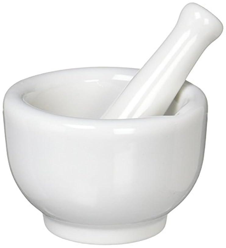 牛肉テクスチャーベルト丸寿製陶 乳鉢セット 磁製 並60mm 乳棒付