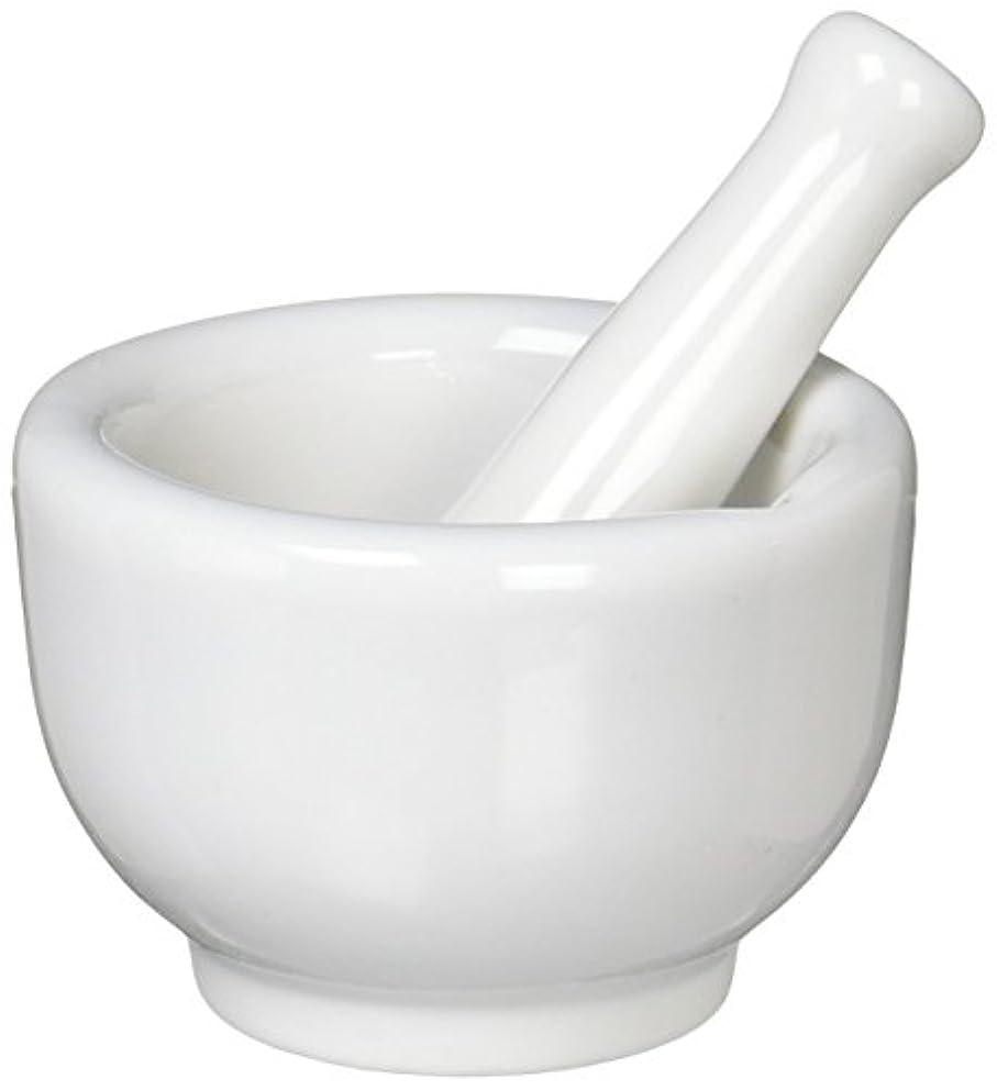 誓い週末求める丸寿製陶 乳鉢セット 磁製 並60mm 乳棒付