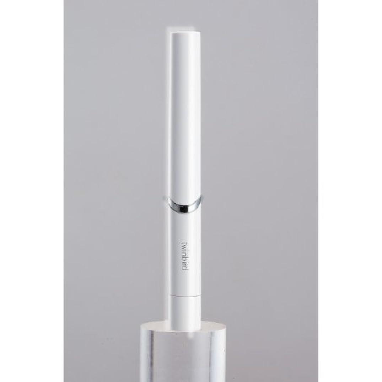 革命的サラミカーフツインバード 音波振動式歯ブラシ BD-2741 ホワイト?BD-2741W