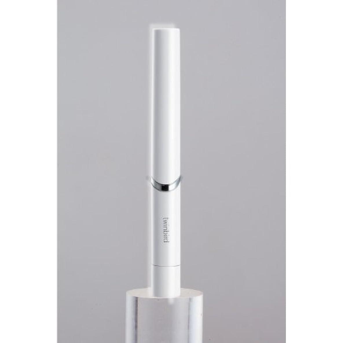 息を切らして乱暴な受粉者ツインバード 音波振動式歯ブラシ BD-2741 ホワイト?BD-2741W