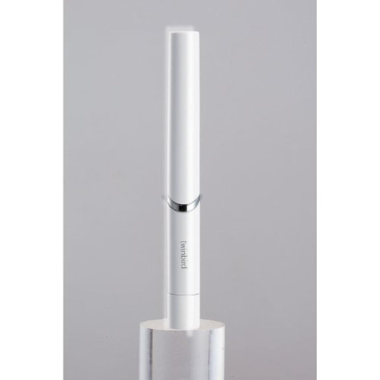 薬用動詞未就学ツインバード 音波振動式歯ブラシ BD-2741 ホワイト?BD-2741W
