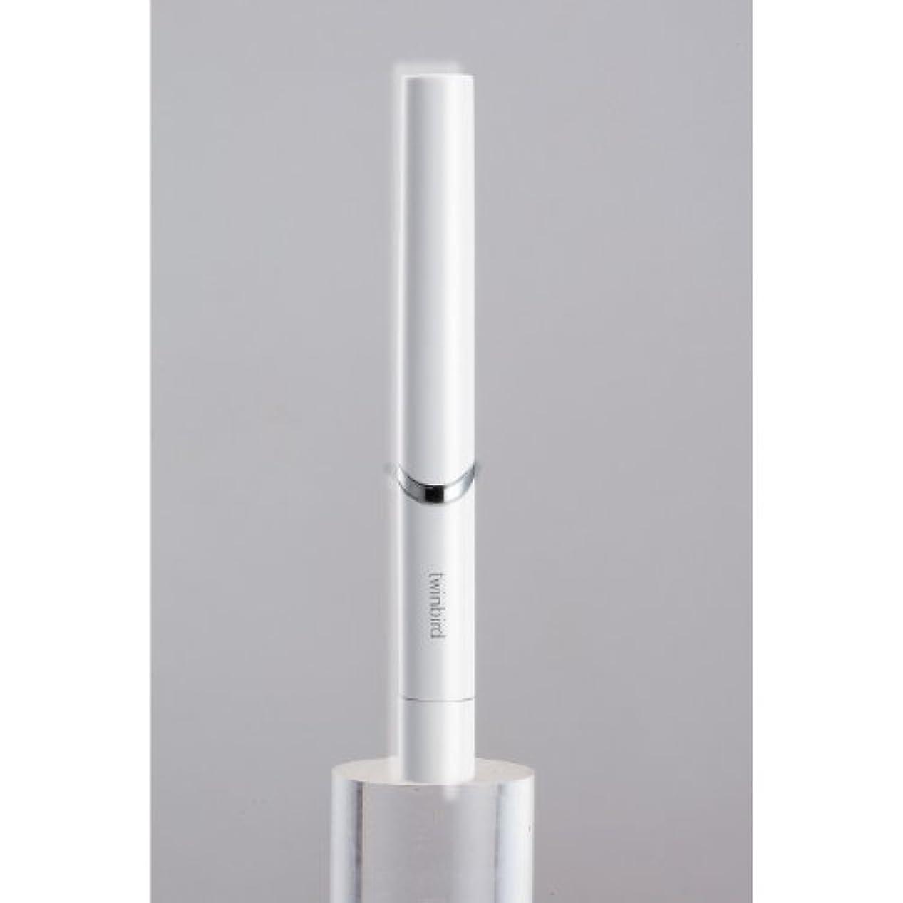 蒸留するコカインモーテルツインバード 音波振動式歯ブラシ BD-2741 ホワイト?BD-2741W