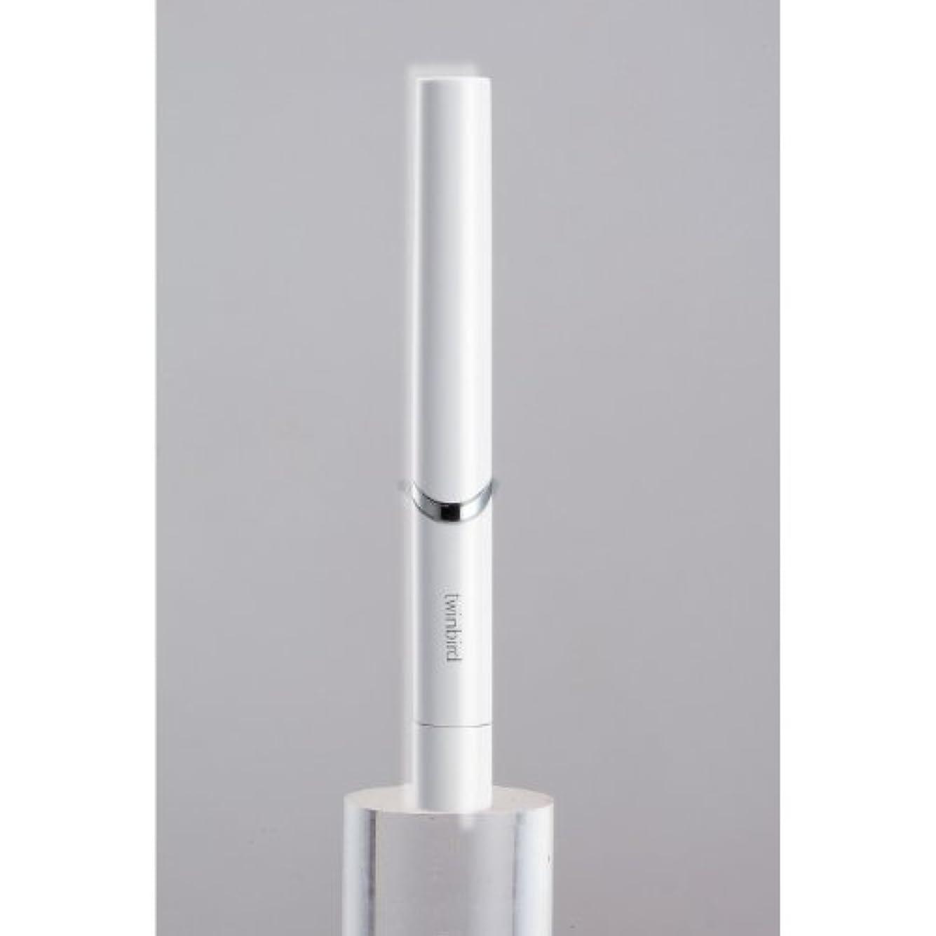 とらえどころのない指定する患者ツインバード 音波振動式歯ブラシ BD-2741 ホワイト?BD-2741W
