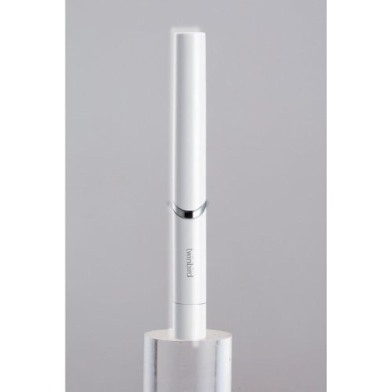 眼接触隣接ツインバード 音波振動式歯ブラシ BD-2741 ホワイト?BD-2741W
