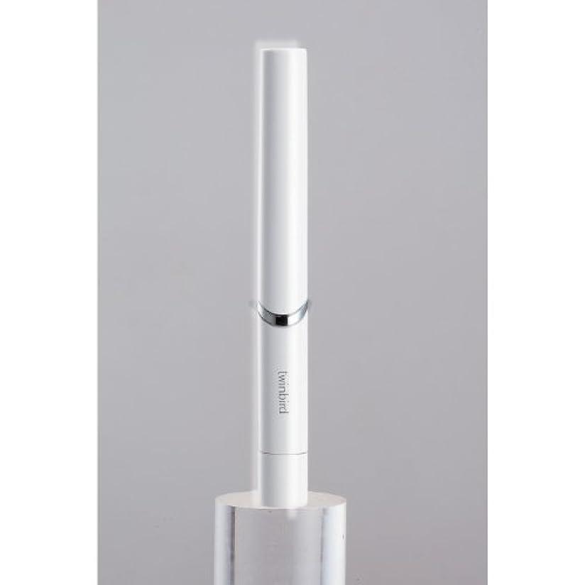 下に向けますしおれたレーザツインバード 音波振動式歯ブラシ BD-2741 ホワイト?BD-2741W