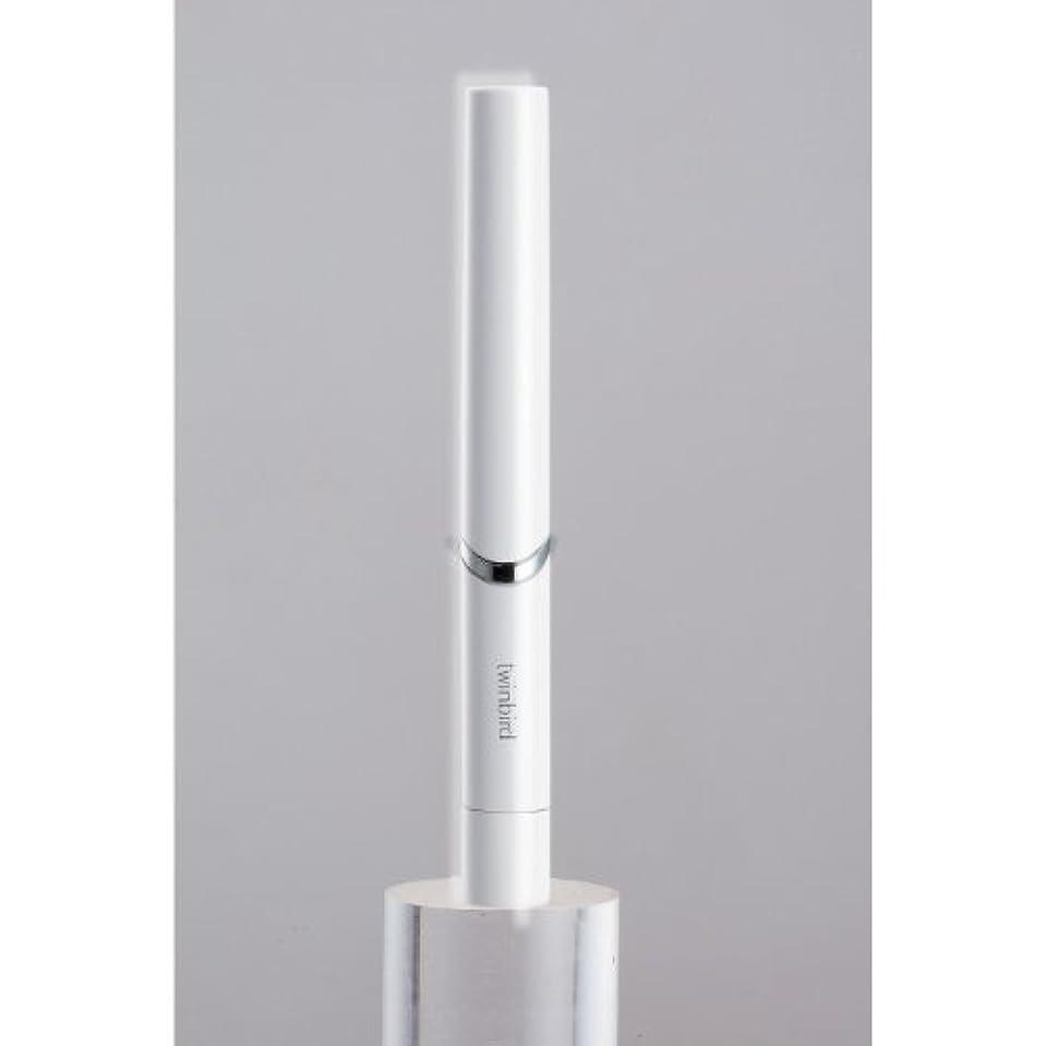 メディック間隔奇跡的なツインバード 音波振動式歯ブラシ BD-2741 ホワイト?BD-2741W
