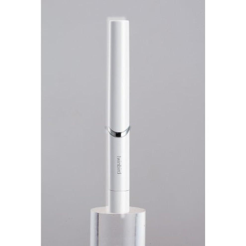 徒歩で賭け安西ツインバード 音波振動式歯ブラシ BD-2741 ホワイト?BD-2741W