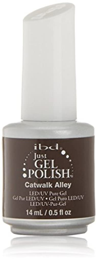 シーン曖昧な剛性ibd Just Gel Nail Polish - Catwalk Alley - 14ml / 0.5oz