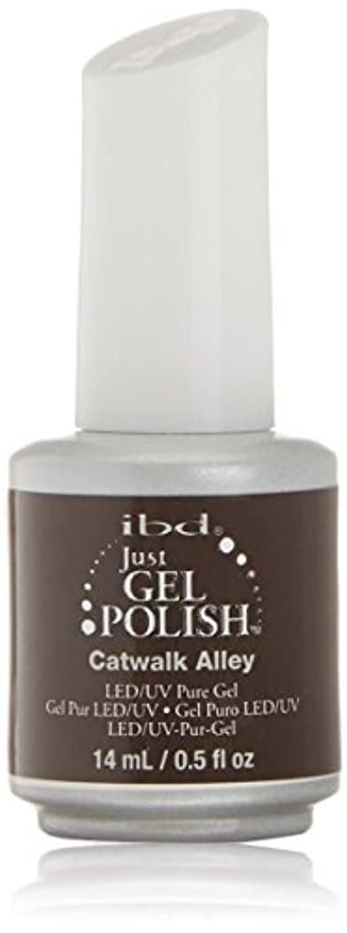 状況持続的アライメントibd Just Gel Nail Polish - Catwalk Alley - 14ml / 0.5oz