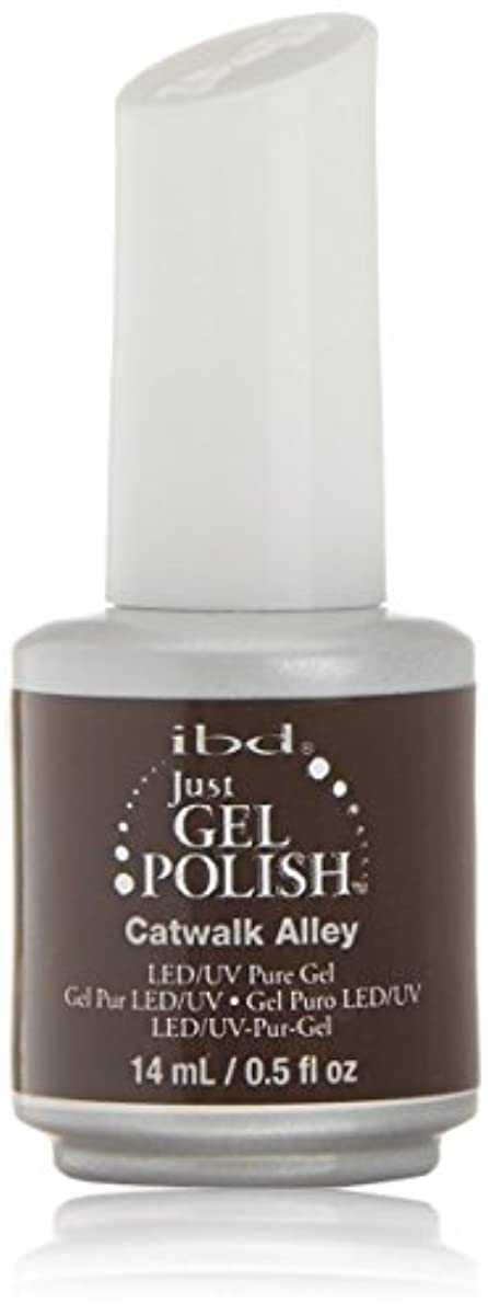 森林全員抑圧ibd Just Gel Nail Polish - Catwalk Alley - 14ml / 0.5oz