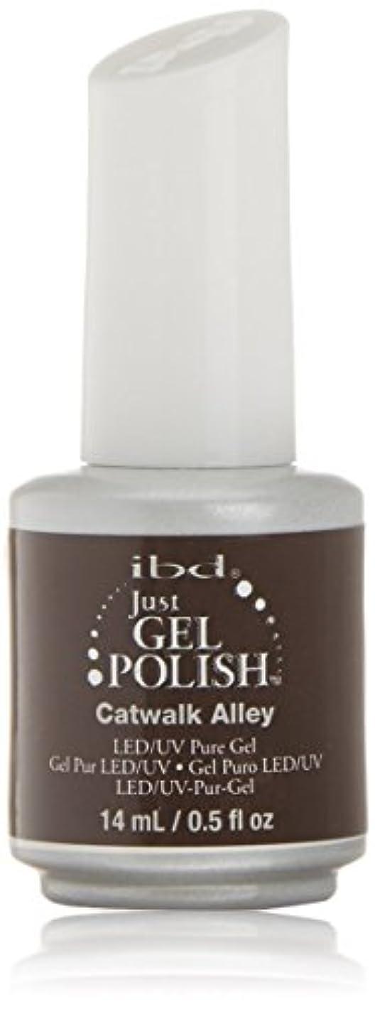 シャワーばかげた排泄するibd Just Gel Nail Polish - Catwalk Alley - 14ml / 0.5oz