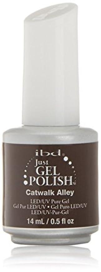 民族主義ジャベスウィルソン製作ibd Just Gel Nail Polish - Catwalk Alley - 14ml / 0.5oz