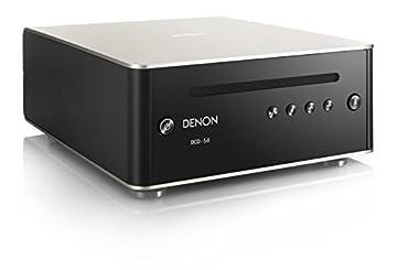 DENON CDプレーヤー DAコンバーター搭載/MP3・WMAファイル再生対応 プレミアムシルバー DCD-50-SP