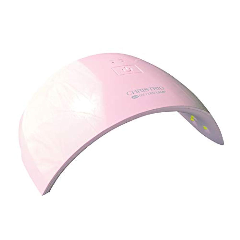 強調砂アスペクトCHRISTRIO 36W OPAL LED/UVランプ ピンク