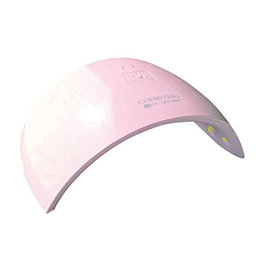 道路費用他の場所CHRISTRIO 36W OPAL LED/UVランプ ピンク