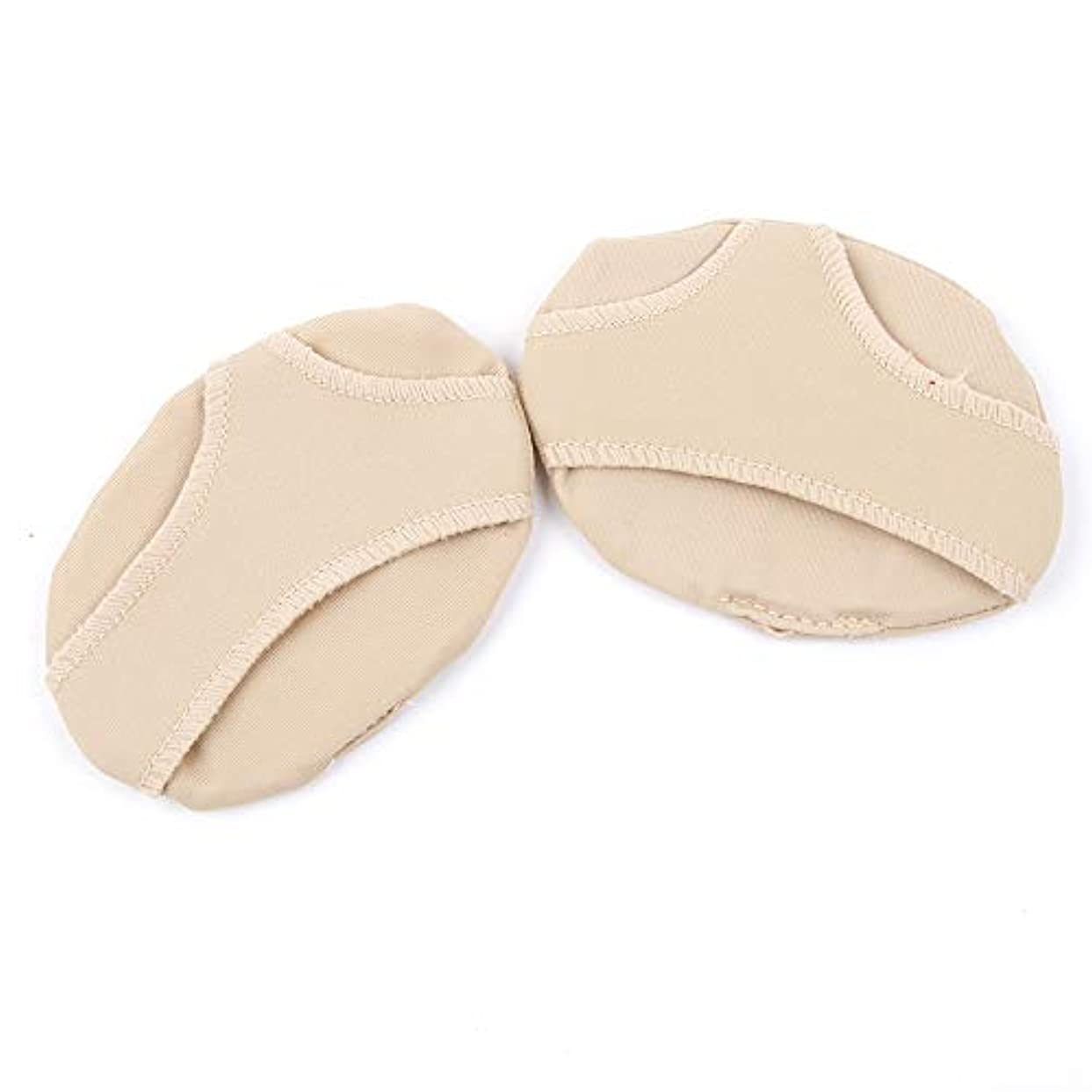 揃える十分ですうれしいRAYNAG 足裏サポート 前足パッド ふんわりパッド 足裏保護 フットケア 足の疲れ 痛み緩和 滑り止め 柔軟性 健康グッズ Mサイズ 肌色 足底用(4個入り)