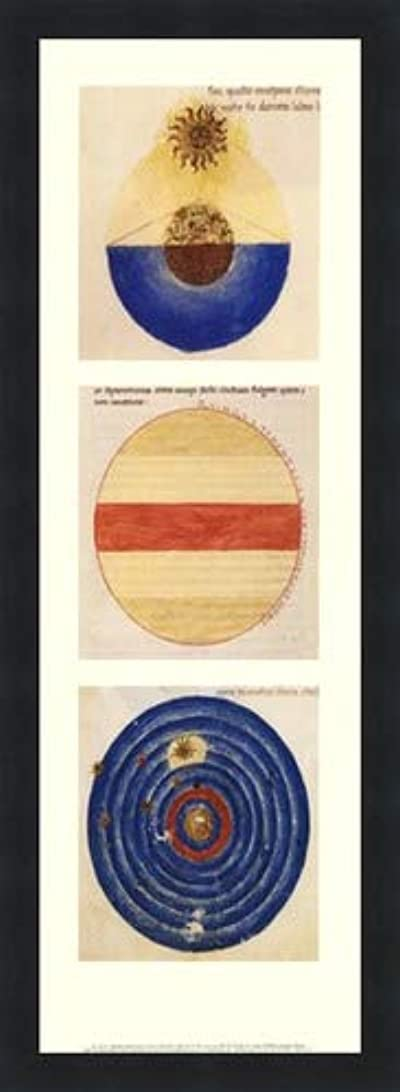 ガイド症状戦士抽象円I by Martianus Capella – 8 x 22インチ – アートプリントポスター LE_71218-F101-8x22