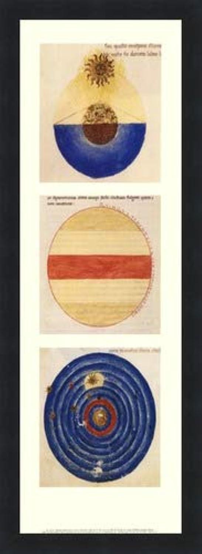 ジャングル言い換えると防腐剤抽象円I by Martianus Capella – 8 x 22インチ – アートプリントポスター LE_71218-F101-8x22