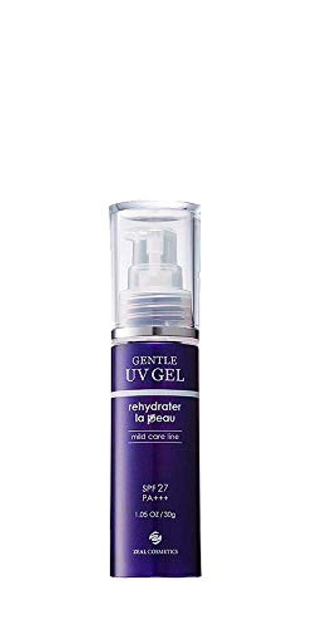 爵間隔ミュートアドソーブ ジェントルUVゲル 日焼け止め 30g SPF27 PA+++ Adsorb Gentle Care for Sensitive Skin