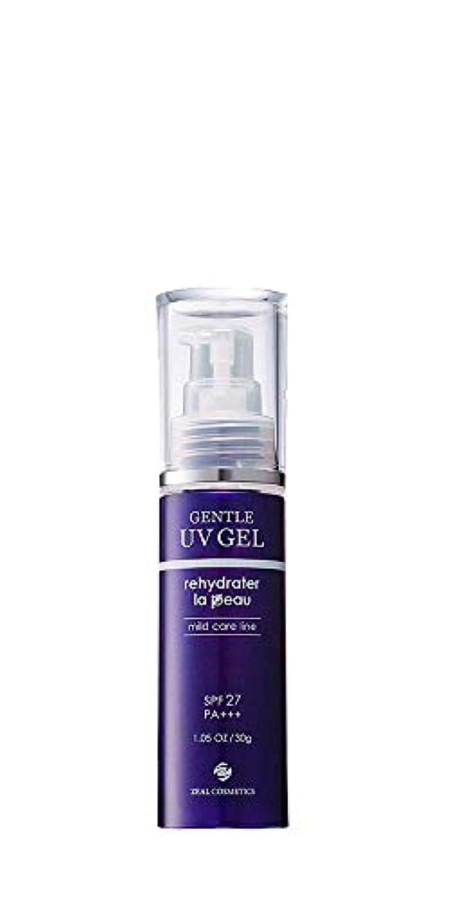 大腿服吐き出すアドソーブ ジェントルUVゲル 日焼け止め 30g SPF27 PA+++ Adsorb Gentle Care for Sensitive Skin